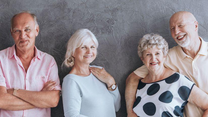 seniori, dôchodok, penzia, penzisti, partneri,...