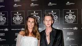 Barbora Franeková s dizajnérom Michaelom Kováčikom