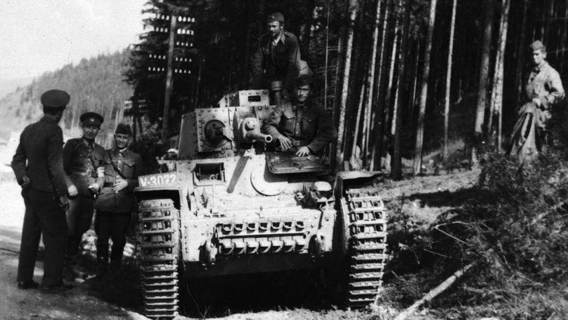 povstalecký tank, snp, telgárt,