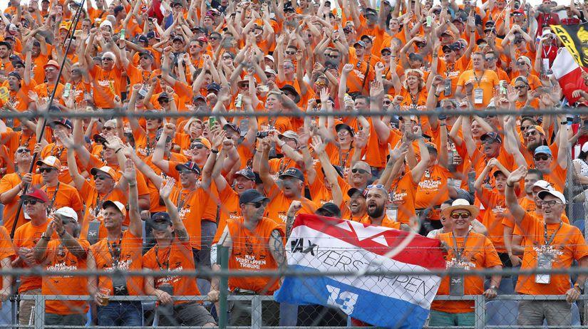 Holandskí fanúšikovia F1