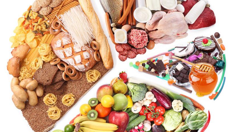 výživový digram, zdravá strava, jedlo,