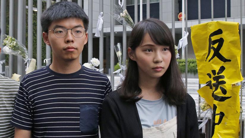 Hongkong, protesty, Joshua Chuang Č'-fenga,...