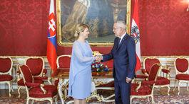 PREZIDENTKA: Navštívila Rakúsko