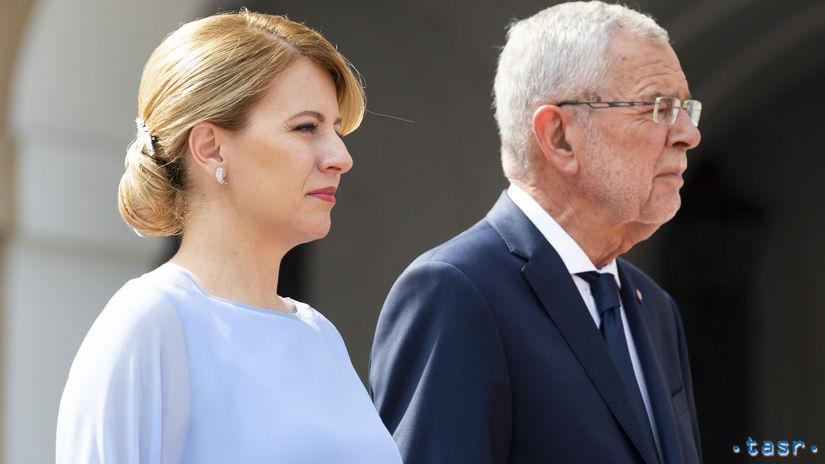 Rakúsko SR Čaputová prezidentka návšteva