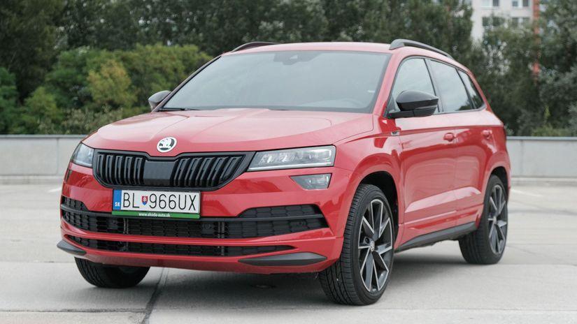 Test: Škoda Karoq 2,0 TSI Sportline – nebojte sa benzínu ...