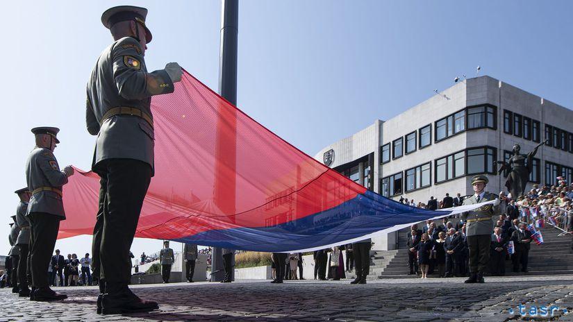 deň otvorených dverí, vlajka