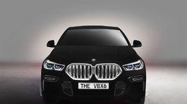 BMW X6 Vantablack - 2019
