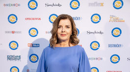 Herečka Zuzana Tlučková.