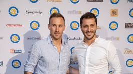 Kolegovia zo seriálu Oteckovia - Marek Fašiang (vľavo) a Branislav Deák.