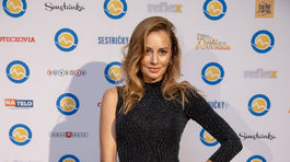 Na markízackej párty prekvapila svojimi krivkami speváčka Mária Čírová.