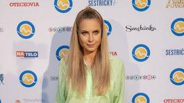 Na párty televízie Markíza nechýbala ani moderátorka Erika Judínyová.
