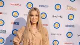 Na párty televízie Markíza prišla aj speváčka Dominika Mirgová.