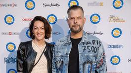Režisér Pepe Majeský a jeho manželka Silvia.