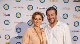 Seriáloví kolegovia Zuzana Mauréry a Vlado Kobielsky.