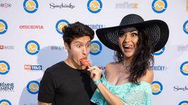 Speváčka Dáša Mamba a jej partner Tony Porucha.