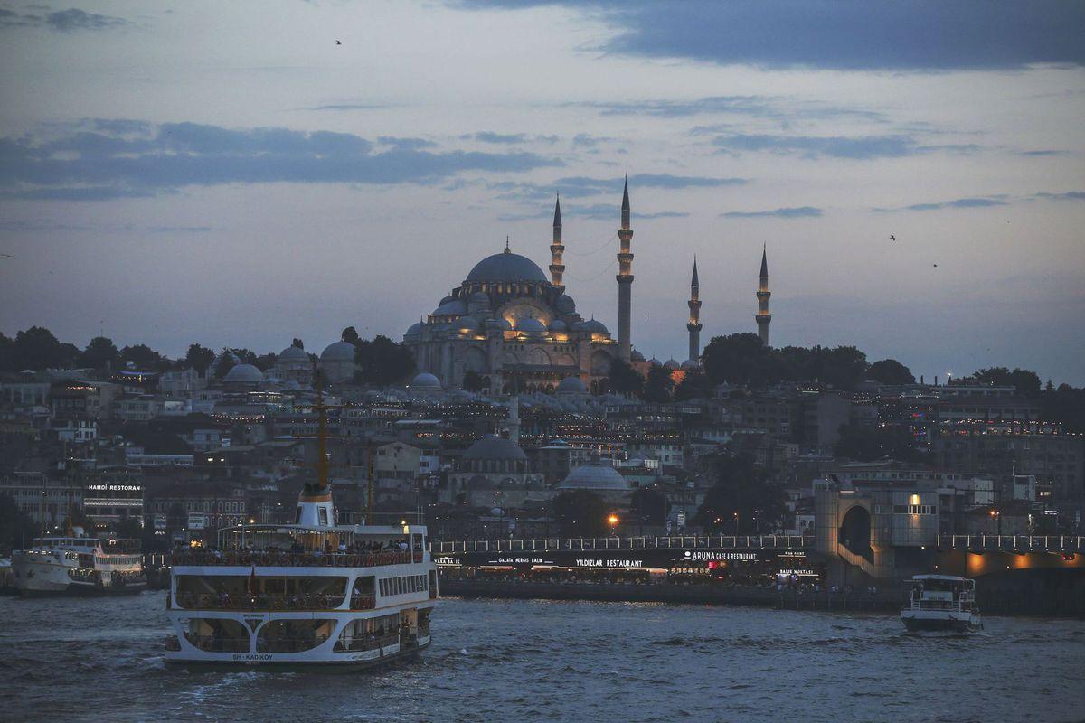 Turecko, Istanbul, mešita