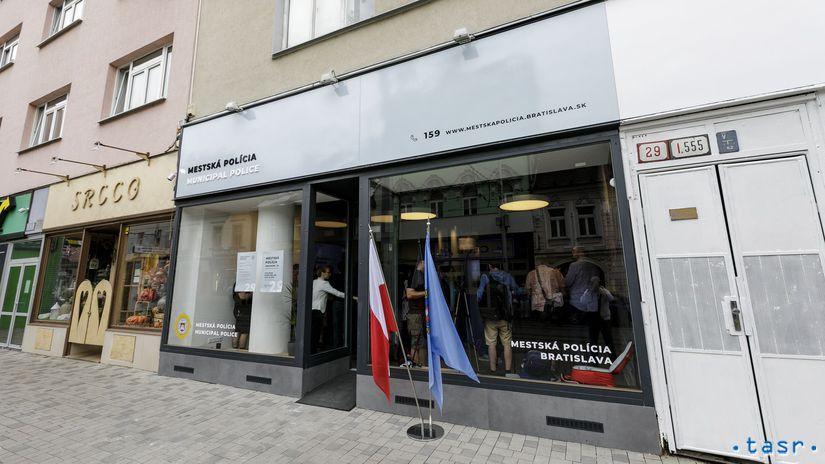 Bratislava polícia stanica Obchodná klientské...