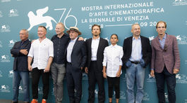 Udo Kier, Aleksei Kravčenko, Stellan Skarsgard, Barry Pepper, Petr Kotlar, režisér Vaclav Marhoul a herec Julian Sands