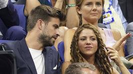 Gerard Pique a jeho partnerka Shakira