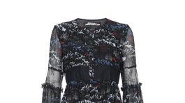Šaty s potlačou veľhôr z dielne značky Pinko. Predávajú sa za 410 eur.