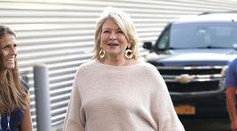 Televízna osobnosť Martha Stewart.