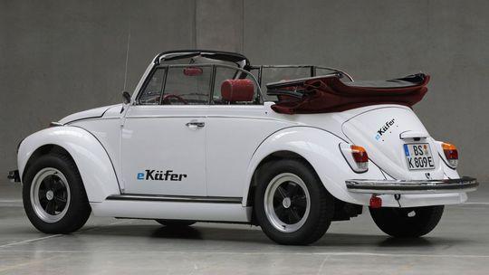 e-Beetle: Chrobák si požičal techniku z bratislavského VW e-up! Má predný náhon