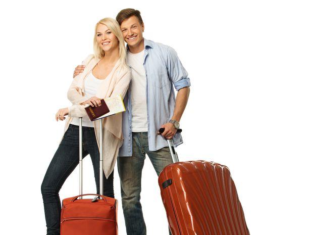 dovolenka, cestovanie, voľno, kufre,