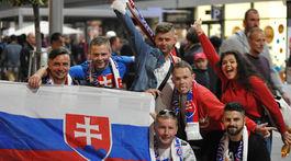 Slovensko, Chorvátsko, fanúšikovia
