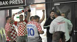 Slovensko - Chorvátsko, fanúšikovia