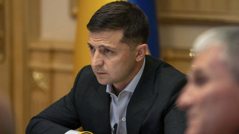 Ukrajina armáda top predstavitelia Zelenskyj...