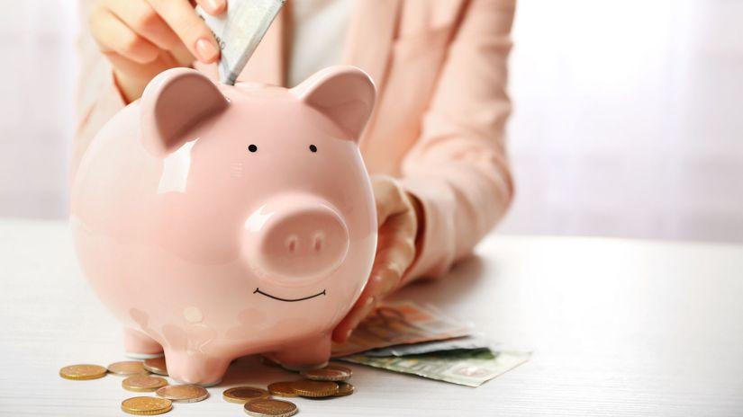 úver, splatnosť, prasiatko, sporenie, peniaze,