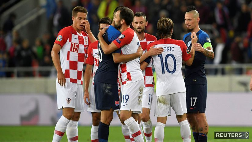 Slovensko, Chorvátsko, koniec