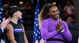 Bianca Andreescuová, Serena Williamsová