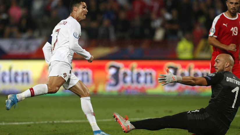 Cristiano Ronaldo, Marko Dmitrovič