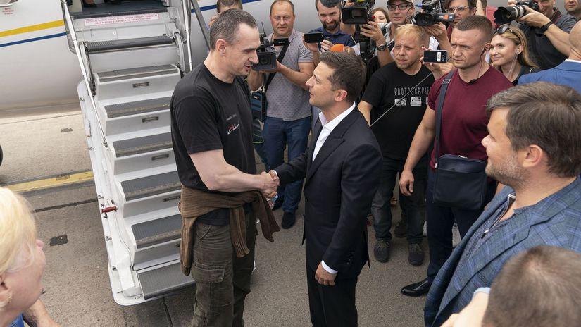 ukrajina, zelenskyj, výmena väzňov