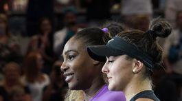 Andreescuová a Williamsová