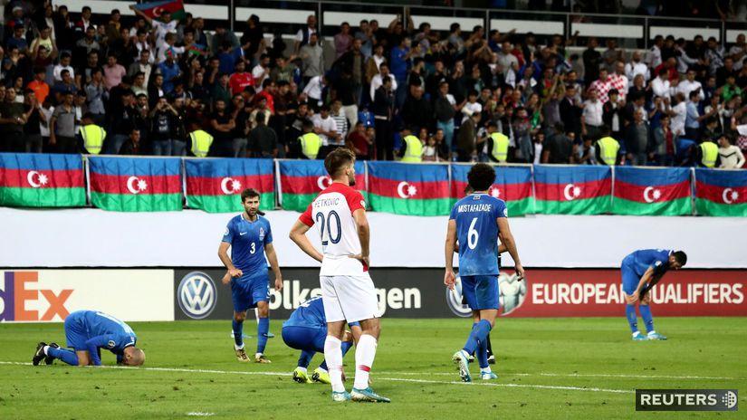 Azerbajdžan, futbal,