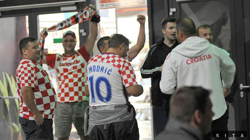 Chorvátski fanúšikovia