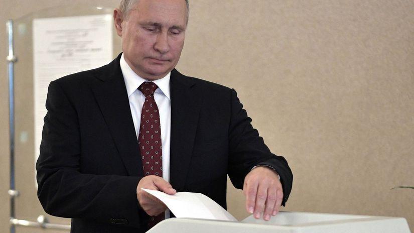Rusko voľby regionálne Putin