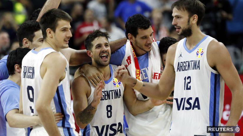 Argentínski basketbalisti