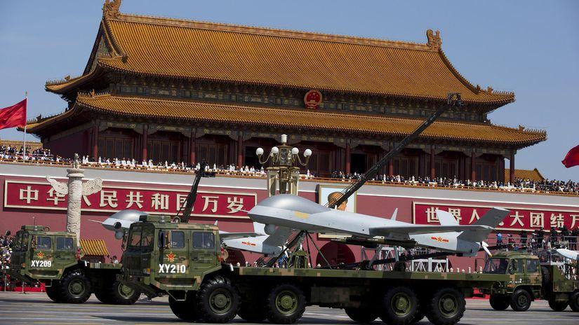 čína drony vojenské lietadlo bezpilotné armáda