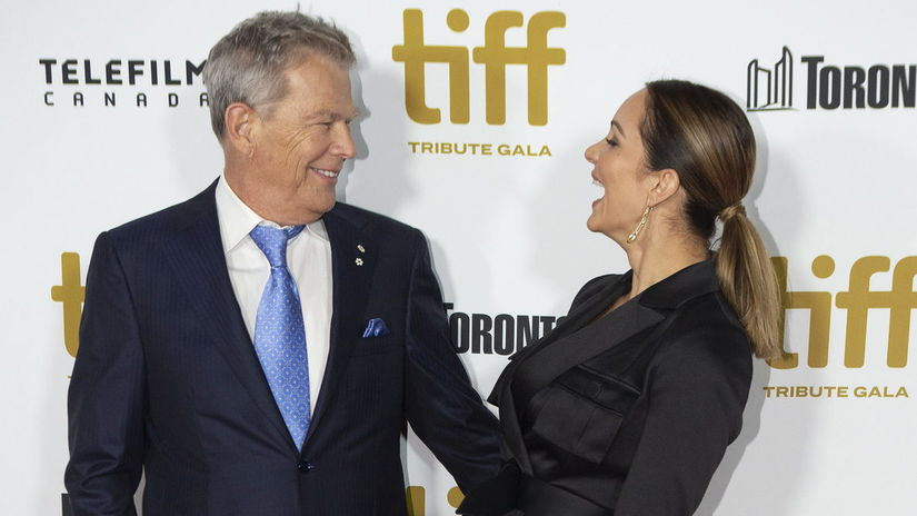 David Foster a jeho manželka Katharine McPhee