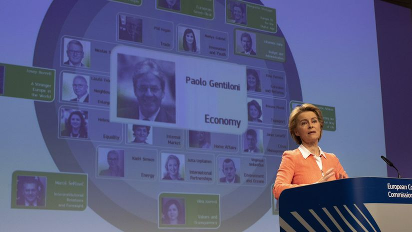 Európska komisia Ursula von der Leyenová brusel