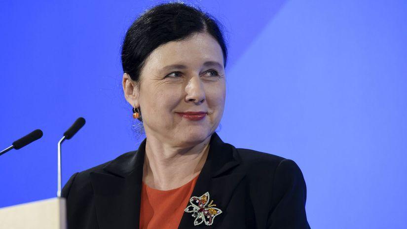 jourová vera, EK, európska komisia