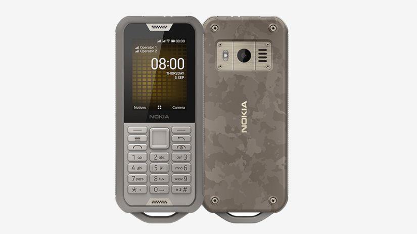 nokia 800 tough, smartfón, telefón