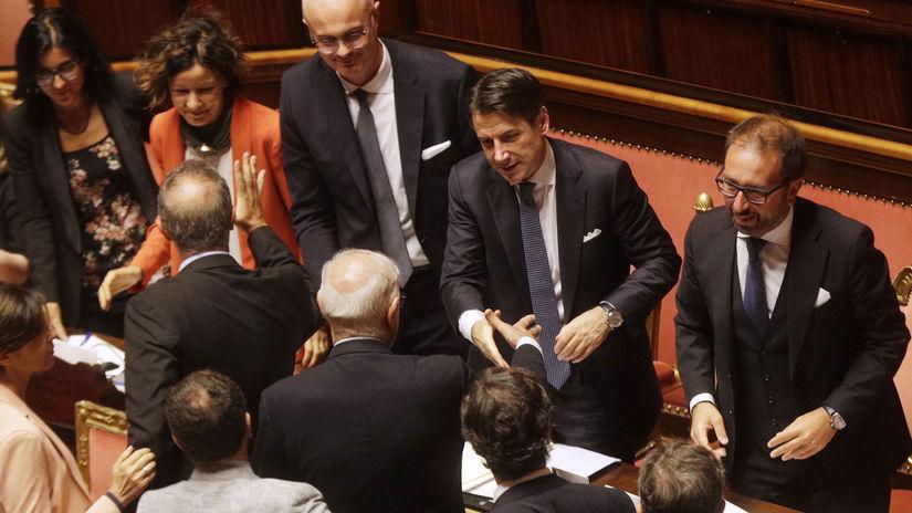 taliansko Giuseppe Conte