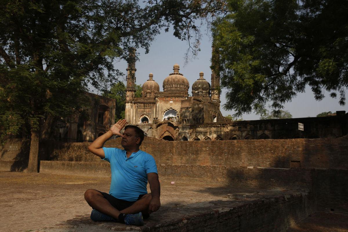 India, cvičenie, Lucknow
