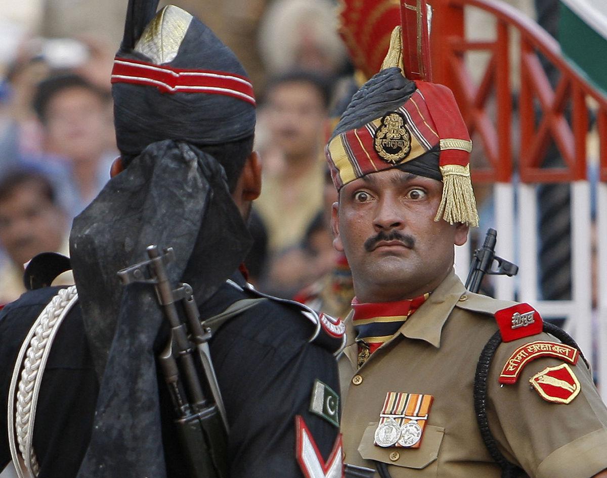 India, Kašmír, vojak