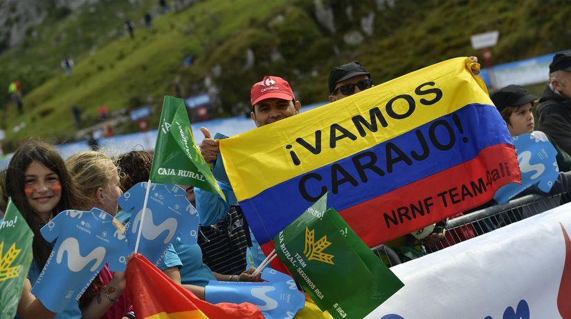 Vuelta, Kolumbijčania
