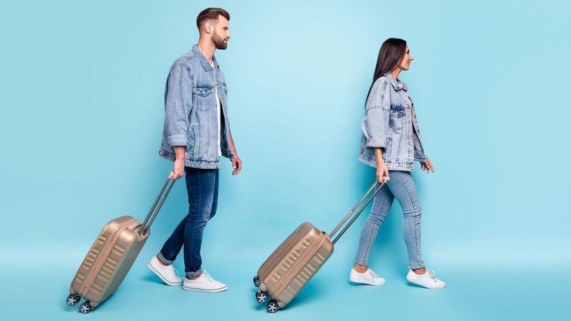 cestovanie, dovolenka, kufre, batožina, balenie,
